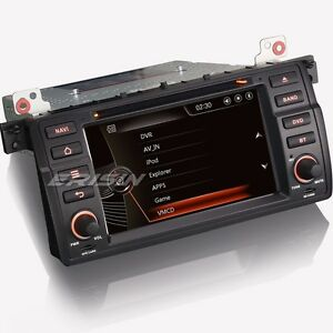7 autoradio bmw e46 rover 75 car dvd gps 3g bluetooth usb sd can bus aux 7146gd ebay. Black Bedroom Furniture Sets. Home Design Ideas