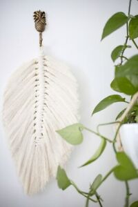 Macrame-Feather-Wall-Hanging-Leaf-45-x-25cm-Boho-Decor-Macrame-Wall-Hanging