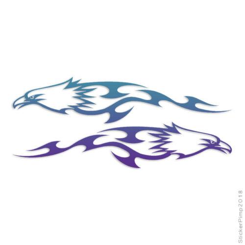 Splash Eagle Flames Decal Sticker Choose Pattern Size #249