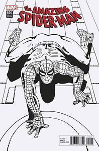 AMAZING-SPIDER-MAN-800-DITKO-VARIANTS-1-in-500-AND-1-in-1000-SET-NM-MARVEL