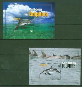 Saint-christophe - 2011-dauphins Dauphins Grand Marsouin Flipper-bloc 105 + 106-afficher Le Titre D'origine Avec Les éQuipements Et Les Techniques Les Plus Modernes