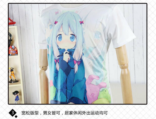 Anime Filles Frontline Casual T-shirt à manches courtes Unisexe Tops Tee Ink Print