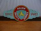 Holden Sales Service Spares metal tin sign bar garage suit eh ek ej hq hk owner