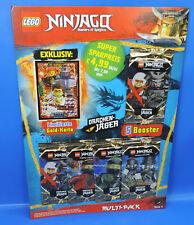 5 Booster = 25 cartes LEGO ® Ninjago série 4 Multi-Pack le19 Carte