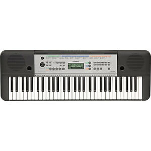 yamaha electric piano keyboard w 61 full size keys ypt. Black Bedroom Furniture Sets. Home Design Ideas