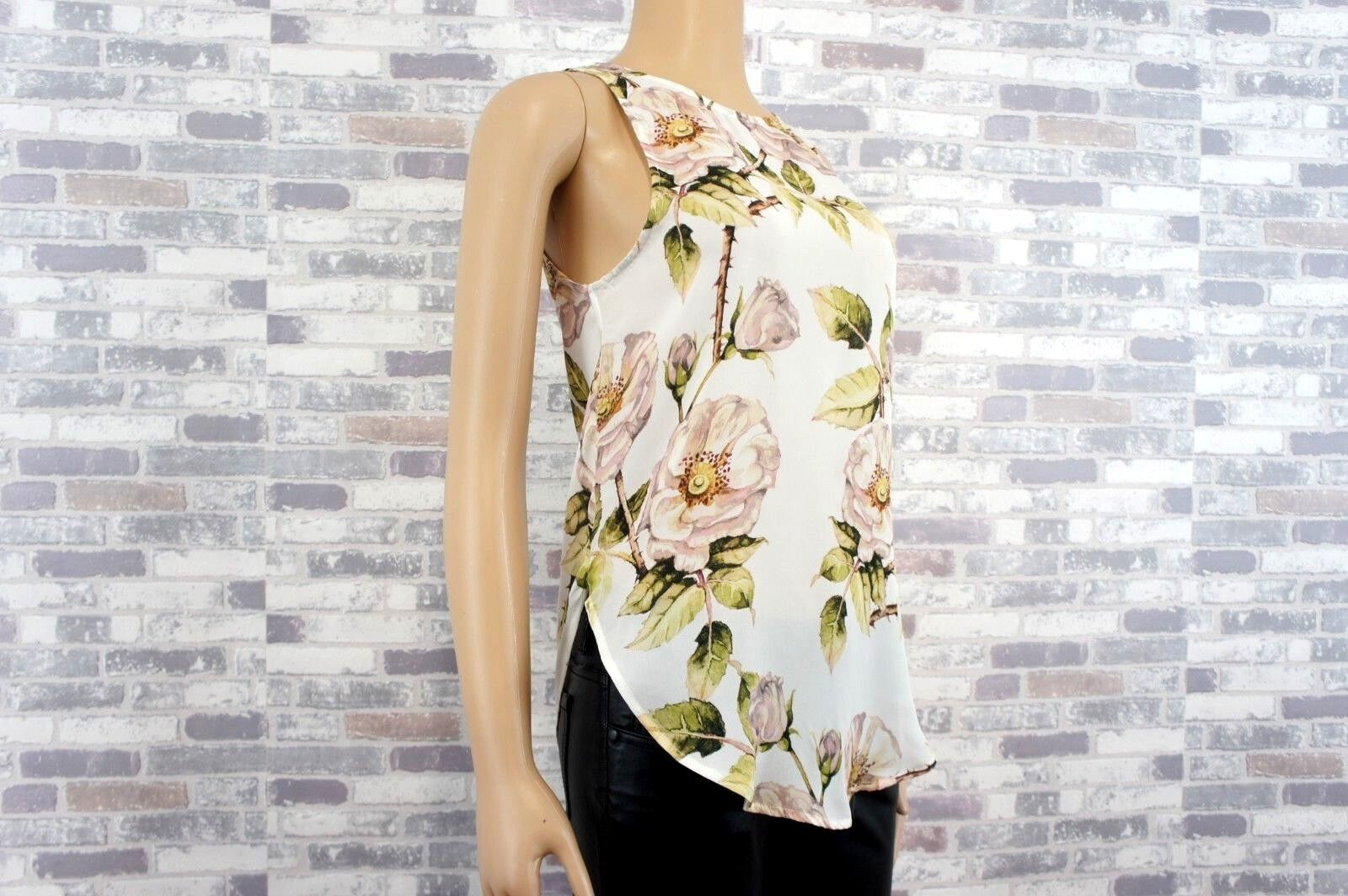 HAUTE HIPPIE   ZARTE HIGH FASHION DESIGNER SEIDE blueSE TOP   XS   NEUW