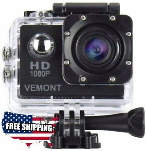 Aktion-GoPro-Hero-Full-HD-1080p-Sports-Wasserdicht-Kamera-12mp-170-Grad