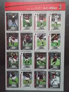 Panini-WCCF-2006-07-AC-Milan-Complete-16-cards-set
