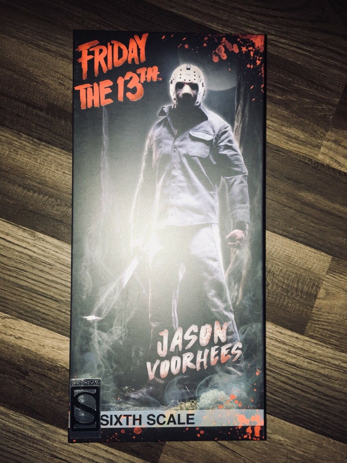FRIDAY THE 13TH EXCLUSIVE JASON VOORHEES SIXTH SCALE FIGURE BRAND NEW