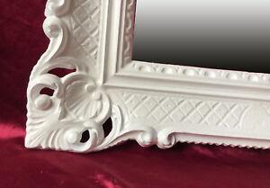Decorazione Pareti Bagno : Specchio muro bianco antico barocco rococo 90x70 cm decorazione
