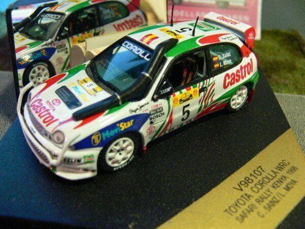 1 43 Vitesse Toyota CGoldlla Rallye Kenia 1998 Sainz Moya  5 V98107  | Erste Qualität