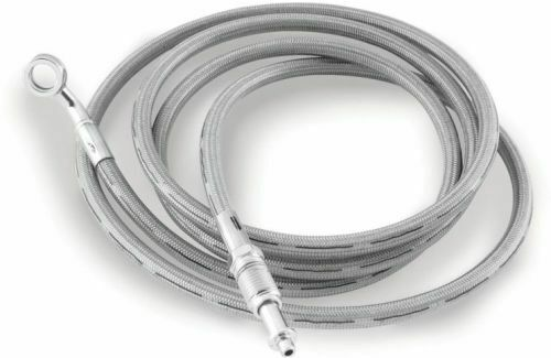 Goodridge Stainless Steel Braided Hydraulic Clutch Line 69 For HD1001-1CCH-69