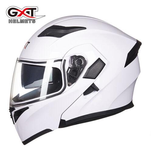 GXT-902 Motorbike Flip Up Helmet Double Lens Modular Casque Moto Cycling Helmet