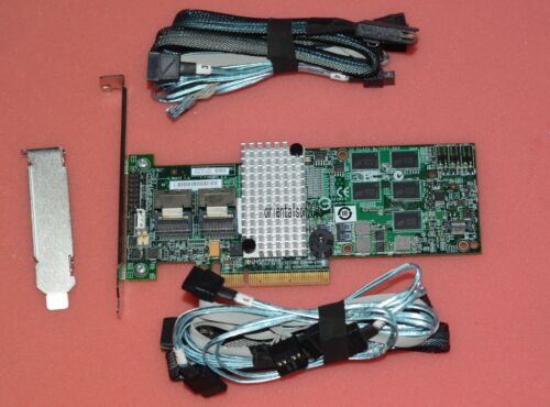LSI00202 Megaraid SAS 9260-8i RAID controller+SFF-8087 to 4XSATA cables
