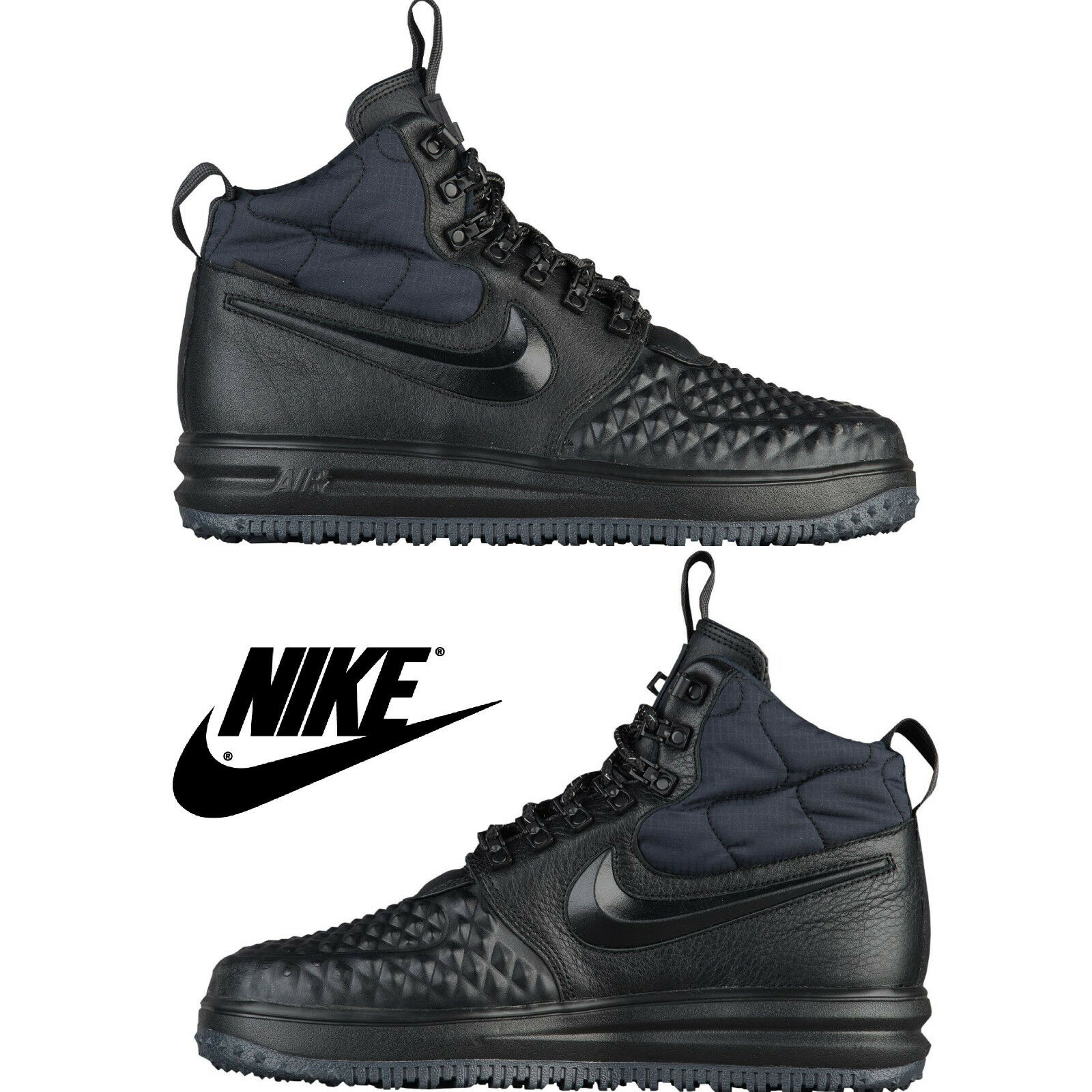Nike lunar force 1 männer duckStiefel komfort schuhe hoch top sneaker stiefel nib