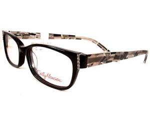 Sally-Hansen-SH-29-Black-Women-Eyeglasses-Plastic-Frames-51-16-140