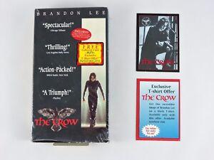 THE-CROW-Premium-Trading-Card-amp-VHS-movie-1995-Kitchen-Sink-Collector-Buena-Vist