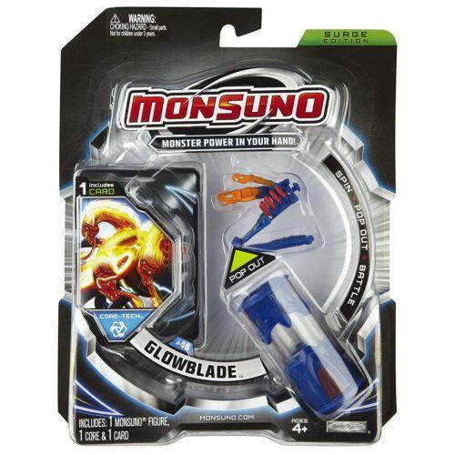 MONSUNO GLOWBLADE #40 Core-Tech SURGE EDITION Inc 1 Mini Figura 1 Core 1 tarjeta