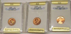 1973 /& 1974 P,D/&S /& 1975 P/&D Lincoln Memorial Cents