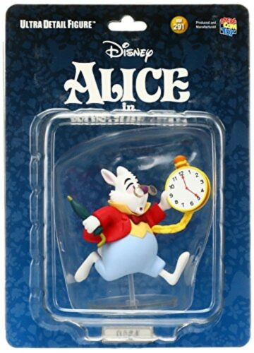 Medicom Toy UDF-291 Ultra Detail Figure Alice in Wonderland White Rabbit F//S