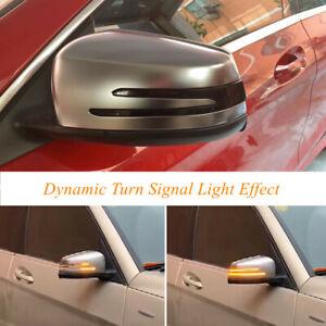 Dynamic Turn Signals Light For Mercedes Benz W204 Cla A B C E Gla Glk Cls Class#