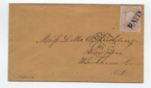 1860s-64b-3ct-1851-rose-pink-cover-Springfield-MA-PF-cert-y5652