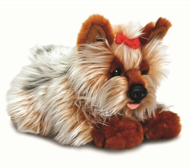 Keel Toys Signature Puppies 30cm Yorkshire Terrier Dog Cuddly Soft Toy SD5457