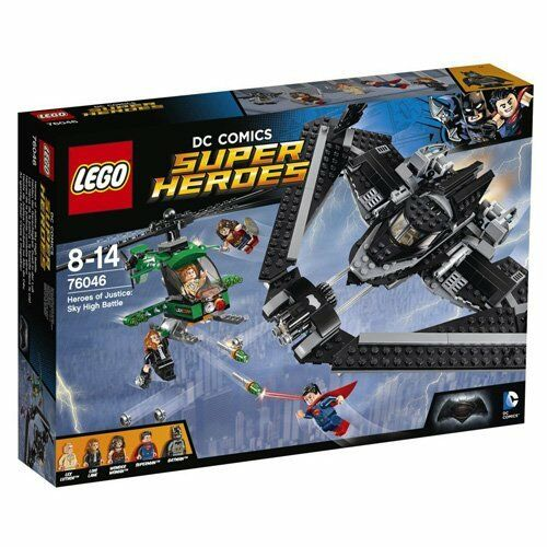 Lego Universe Super Heroes 76046 - Helden der Gerechtigkeit: Duell in der Luft