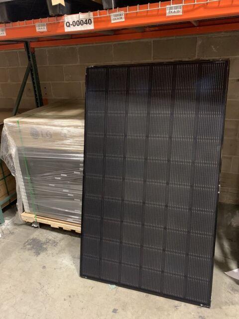 Lot Of 20 Solarworld Sw 285 Watt Solar Panel Mono Black On Black 5 Busbar 285w For Sale Online Ebay