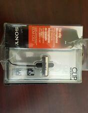 SONY ECM-CS3 Electret Condenser Stereo Microphone