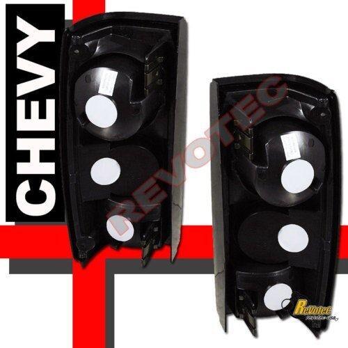 82-93 Chevy S10 91-93 GMC Sonoma Pickup Chrome Tail Lights 1 Pair ...