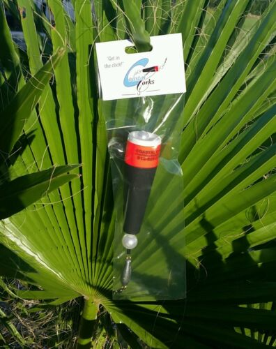 "3 for $23 Coastal Corks Custom Saltwater Popping Corks /""Guide Black /"""