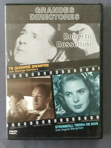 DVD-TE-QUERRE-SIEMPRE-STROMBOLI-TIERRA-DE-DIOS-Grandes-Directores-ROSSELLINI
