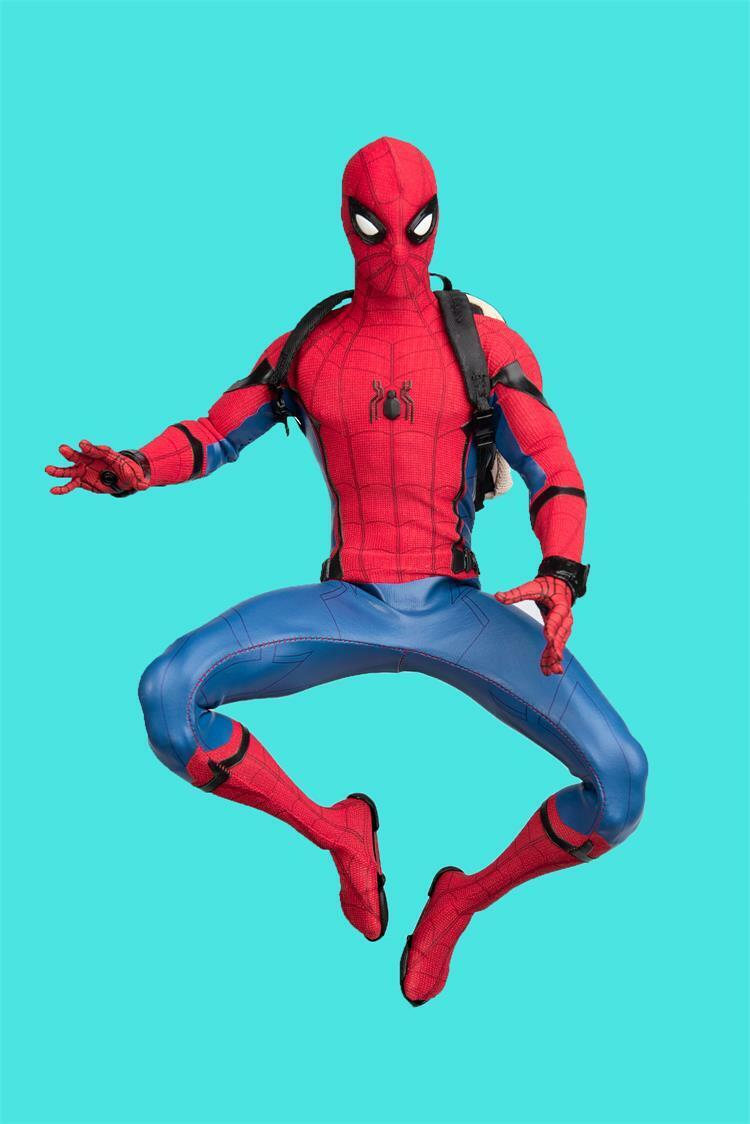 1 6 Male Soldier Costume Cloth Insect Spider-Man Kleid Suit Avengers Toys TYM061