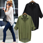 Fashion-Women-Casual-Long-Sleeve-Chiffon-Blouse-T-Shirt-Summer-Loose-Tops-Blouse thumbnail 1