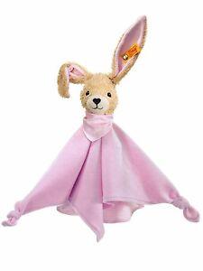 Spielzeug WohltäTig Steiff 237546 Hoppel Hase Schmusetuch Rosa 28 Cm Incl Geschenkverpackung Moderate Kosten Baby
