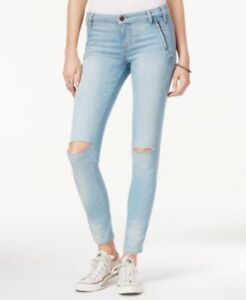 select for latest 2019 discount sale aliexpress Details about Guess Women's Acton Wash Isabel Curve Ripped Skinny Jeans  Size 30 # S 4