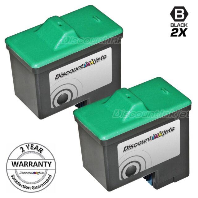 2 #16 16 10N0016 HY Black Printer Ink Cartridge for Lexmark x1240 x1270 x1290