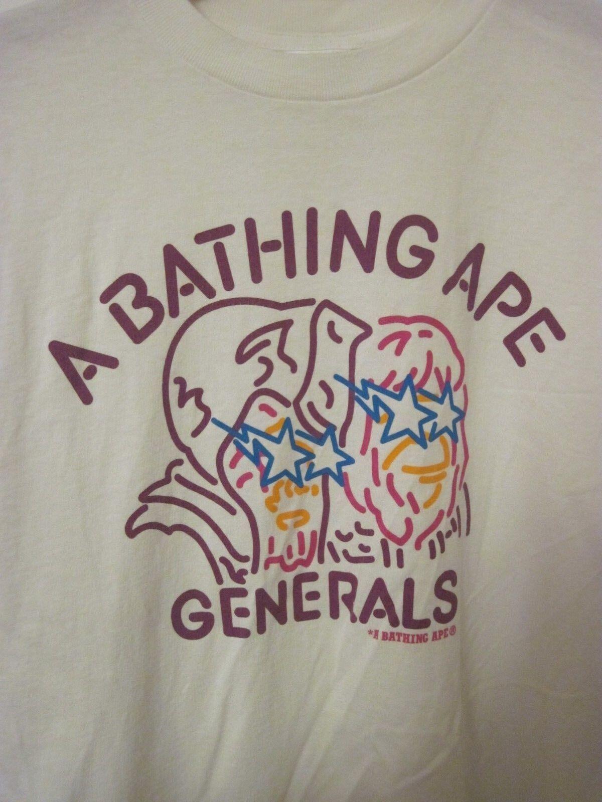 A Bathing Ape generali Bape Bape Bape Camicia A Maniche Corte Top T-shirt taglia M cotone 37b099