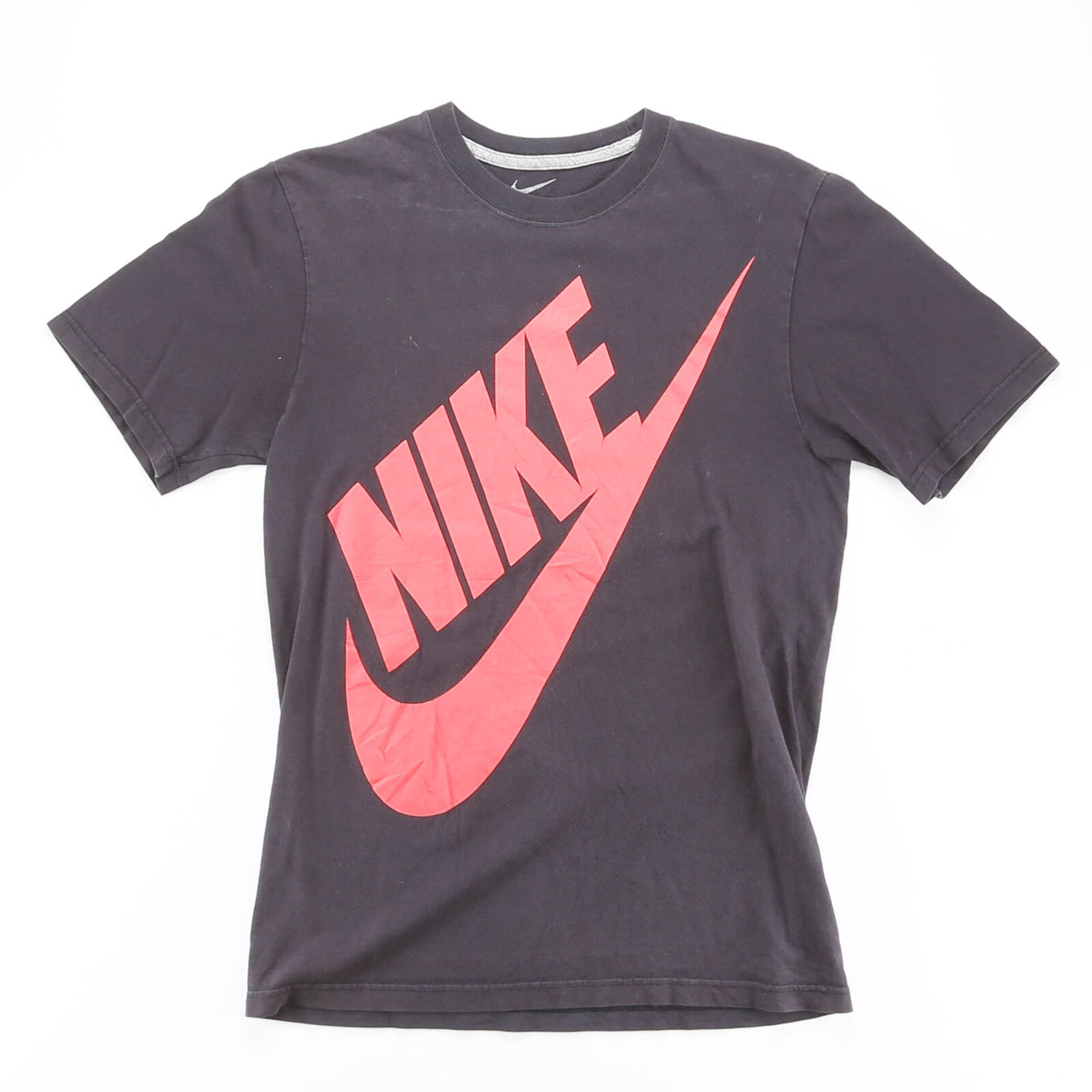 NIKE Black 00s Short Sleeve T-Shirt Mens S