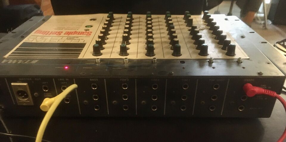 Trommemaskine, Tama Techstar 305