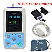 Fda Portable Patient Monitor Digital Blood Pressure Monitor Spo2+nibp+pr Pm50