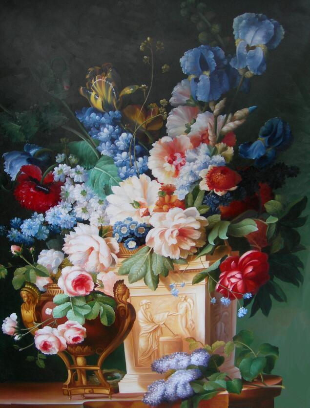 3D Sammeln von Blumen 456 Wandbild Fototapete Bild Tapete Familie AJSTORE DE