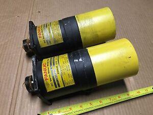 Fanuc A06B-0632-B001 (5X) DC Servo Motor Model 00M - OOM 59V, 4A, 1 Nm, 2000 RPM