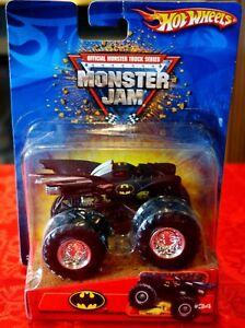 New-Hot-Wheels-2006-Monster-Jam-1-64-Batman-34-B3191