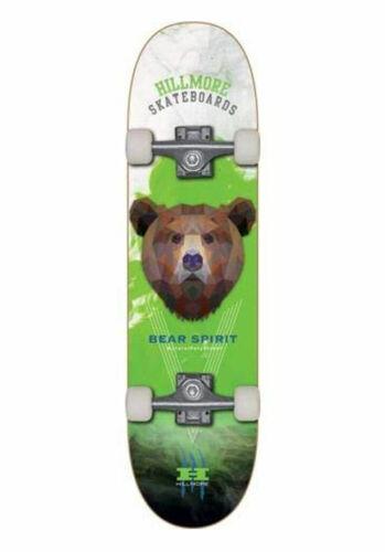 """SKATEBOARD COMPLETO SKATE HILLMORE BEAR SPIRIT 7.75/"""""""