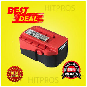 HILTI 24V/ 2.0 NiCd BATTERY, PREOWNED, DURABLE, VERY STRONG, FAST SHIPPING