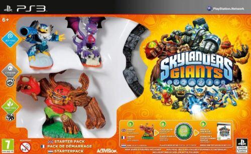SKYLANDERS GIANTS STARTER PACK PS3 *NEW & SEALED*