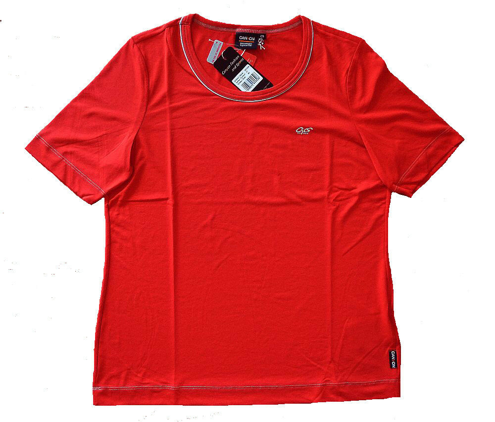 Canyon damen Sports T-Shirt rot Damen-T-Shirt