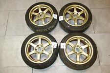 Jdm Subaru Wrx Sti Prodrive Rims Wheels Tires Gc 06h 5x1143 17x8551 Offset